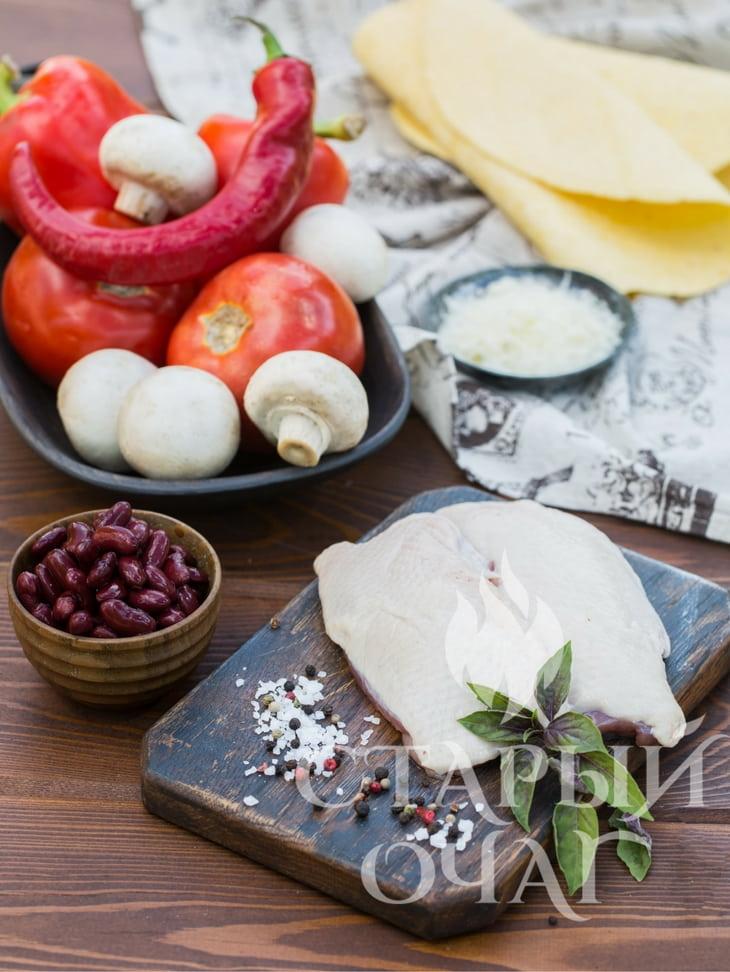 Рецепты копчения в коптильне Кесадилья с копченой уткой